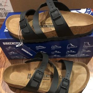 Birkenstock Salina Black 7 medium new